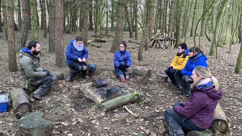 discussion around fire