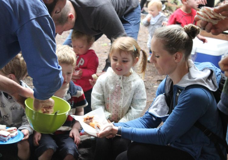 open day, base camp, farm, field, nursery, greatwoodfarm, boothby pagnell, woods, jam doughnuts, families, fire