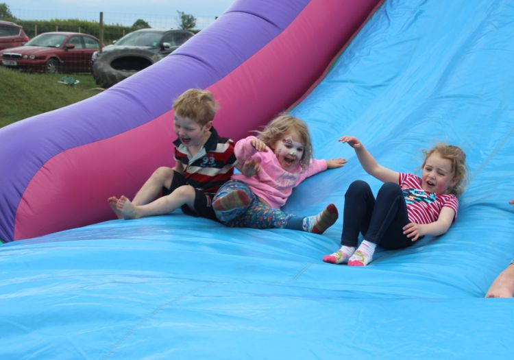 open day, farm, , nursery, great wood farm, boothby pagnell, woods, fun, bouncy castle, obstacle course, inflatable